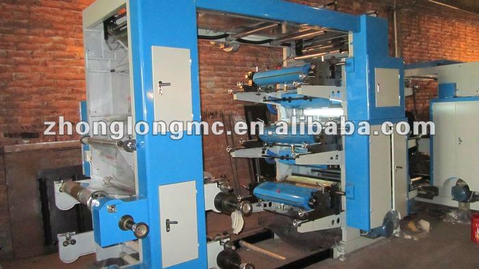 Six colors flexo printing press