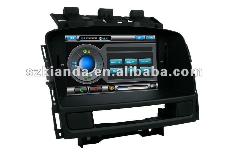 7 inch HD Touch screen car DVD player for Opel Astra J with 3G