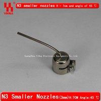 Сварочная головка 45 degree angle round outlet nozzles