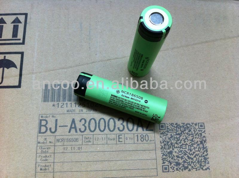 NCR18650B 3.4Ah Highest Capacity 18650 Li-ion Battery