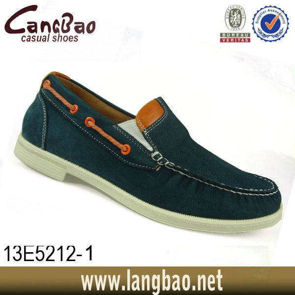 men leather design shoe
