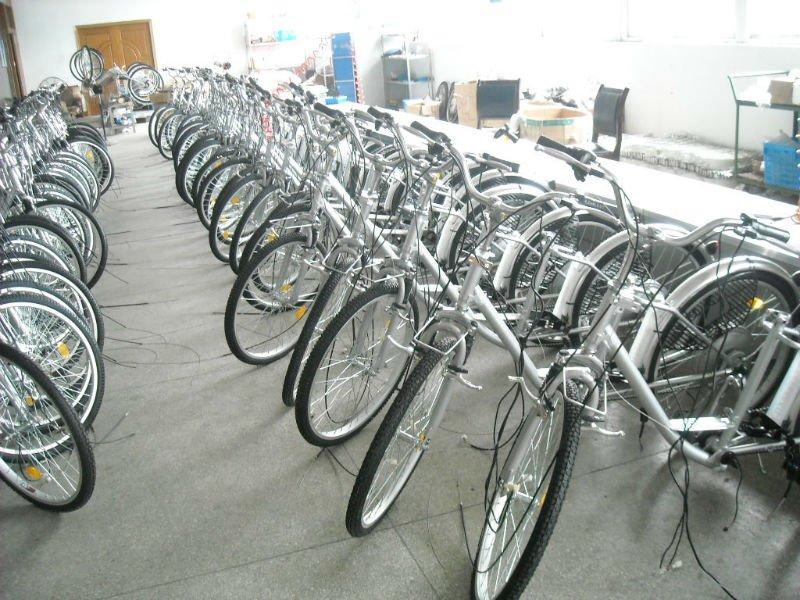 350W Three wheel Electric tricycle ,bicycle strong electric bike with Li-ion e-bike, KTN-004