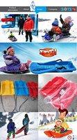 Санки и Надувные плюшки снег мечты ZY-70901