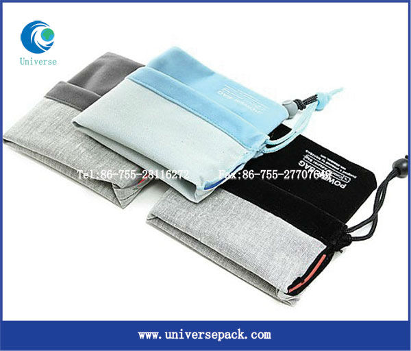 various gift velvet bags with mobile phone