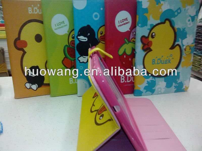 book flip cute case for ipad 2 case