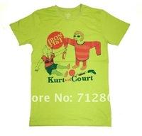 Мужская футболка hotsale fashion rock t-shirt, iron fist man's style DHL mix order IFM034