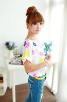 Женская футболка S/M/L , o & * 18 A18