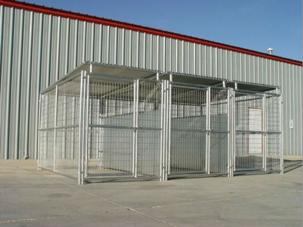 Welded wire dog kennel metal dog kennels waterproof dog kennels
