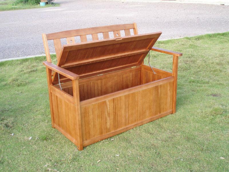 Cushion Storage Bench Buy Outdoor Storage Bench Wood Storage Bench