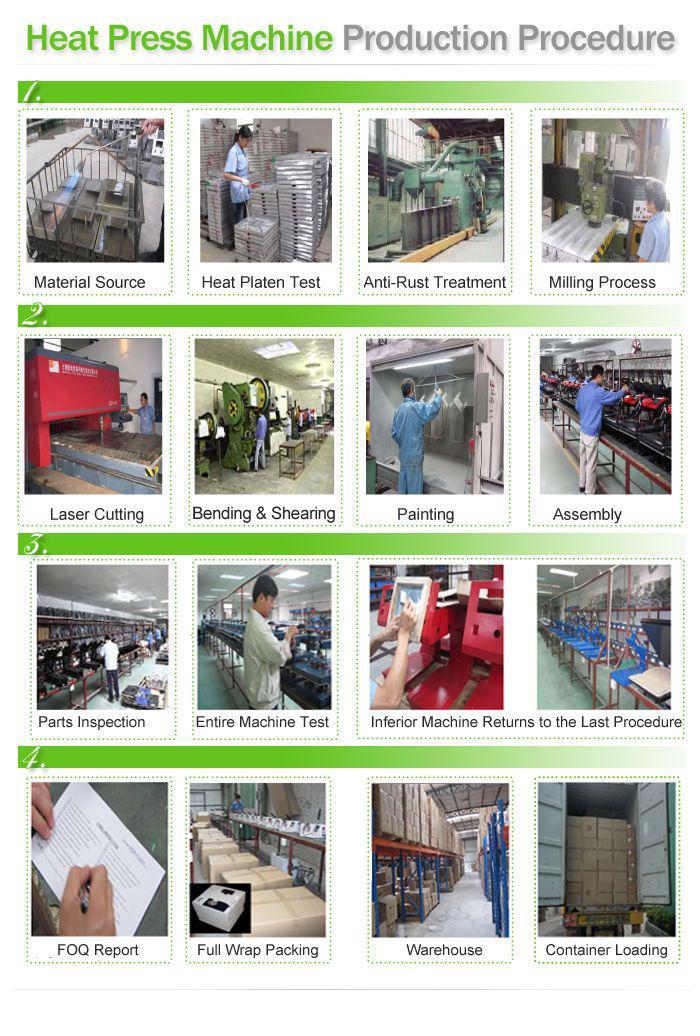 ech 800 8 in 1 combo heat press machine