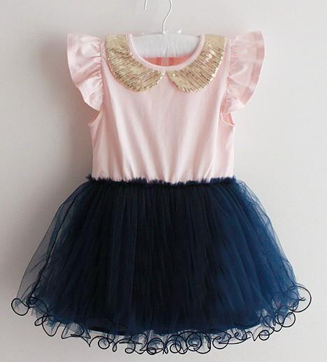 Детские платья с пачками