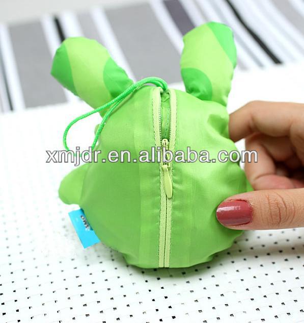 Wholesale Hot Sae Animal Foldable Shopping Bag Polyester