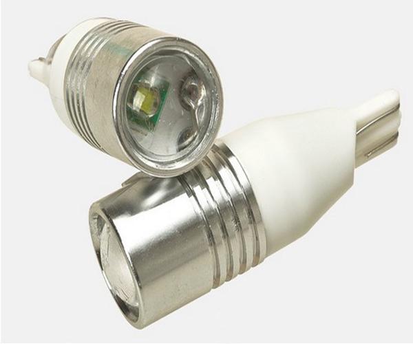 High Power T10 3W CREE LED Lamp,LED Car Light Bulb,W5W LED Car Tuning Light