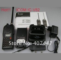 Рация Handheld transceiver ICOM IC-V82 two way radio Built-in CTCSS/DTCS PC cloning capability 2012 hot sale