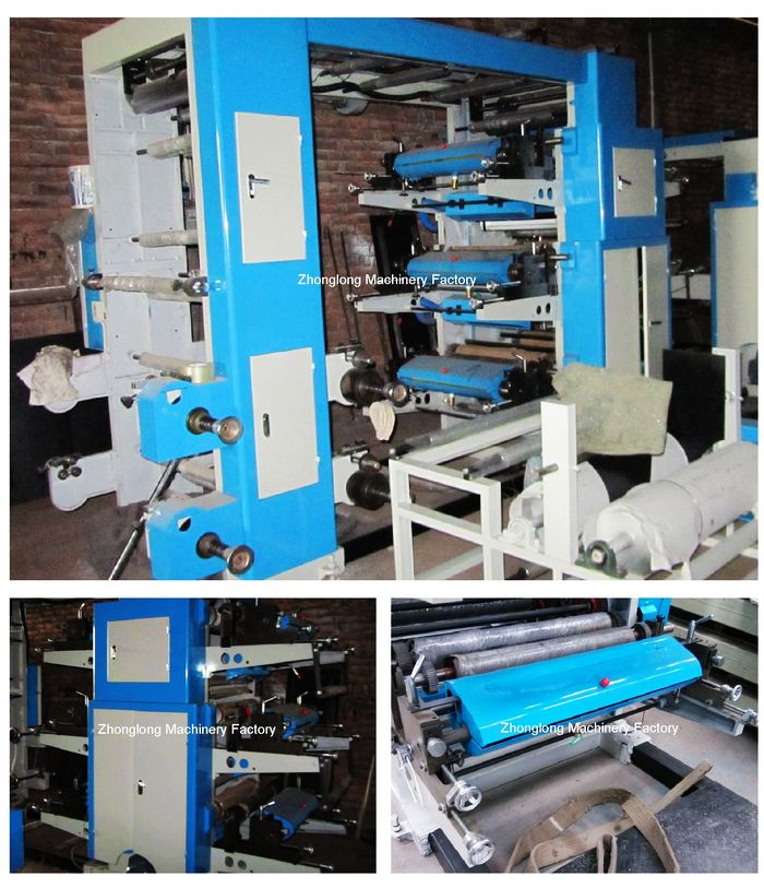 Flexo printer Six color
