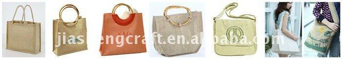 2014 jute gift bags