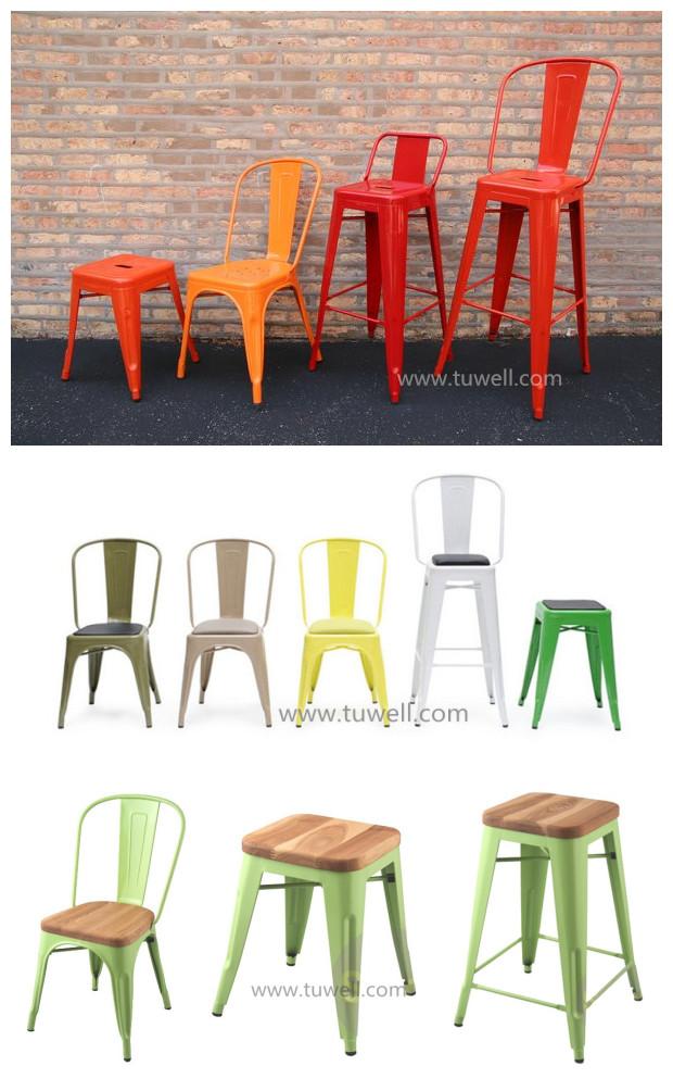 cafe marais metal tolix chair stackable buy metal chair metal