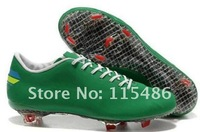 Free Shipping 1:1 Quality White Black Classic Football Shoes For Men's Outdoor Ronaldo Cleats Synthetic Leather Cheap
