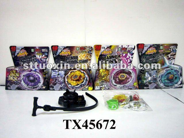 2012 new design beyblade spinning tops