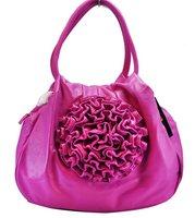 Сумка через плечо and retail guaranteed 100% PU flower ladies fashion bag shoulder bag women's handbag/QQ085