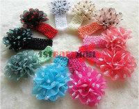 Детский аксессуар для волос 30pcs/lot girls' newfashioned headband baby girls' hair Accessories Top Baby headbands hairbands flower+headband