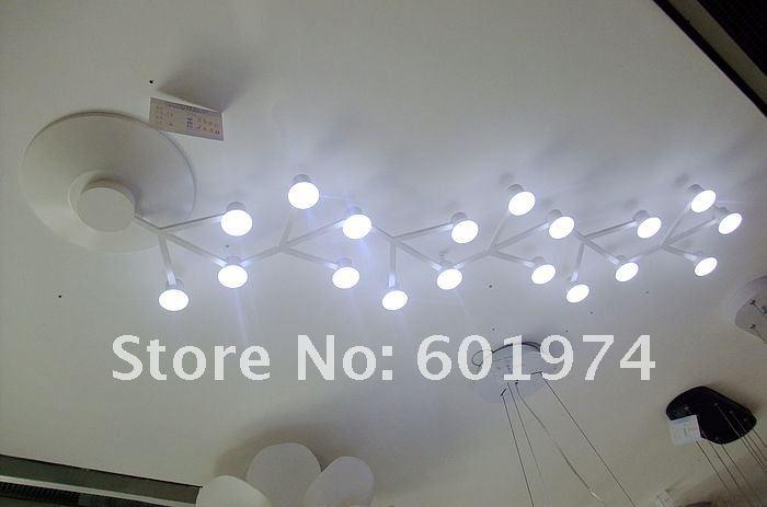 lampadari moderni a soffitto : net ha portato a soffitto lampade a led arte minimalista lampadari ...