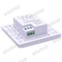 Настенный переключатель IR Motion Sensor Automatic Lighting Switch Save Energy 12127