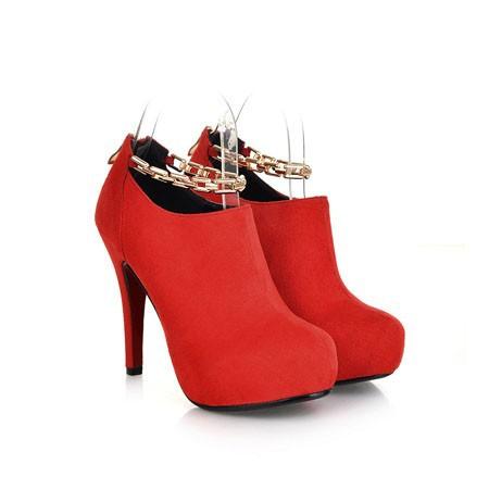 New Hot Retro Luxury Women's Ankle Boots Women Casual Medium Heels