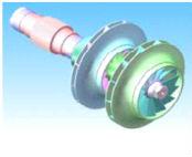 centrifugal compressor big output water cooler condenser unit