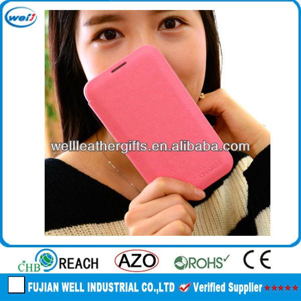 newest cute PU mobile phone cases