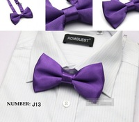 Мужской галстук Mens Imitation Silk Tuxedo Adjustable Neck Bowtie Bow Tie Q408