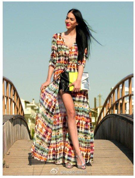 Wonderful Home  Dresses Plus Size  5 Ethnic Print Dresses For Curvy Ladies