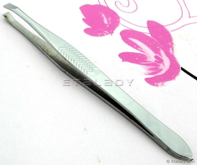 Jewelry Making Smd Hot Ear Pick Tweezers Eyelash Curler Stainless Steel Curved Tweezers