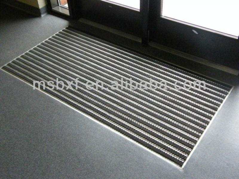 Aluminium Entrance Mats With Carpet Inserted/entrance Door ...