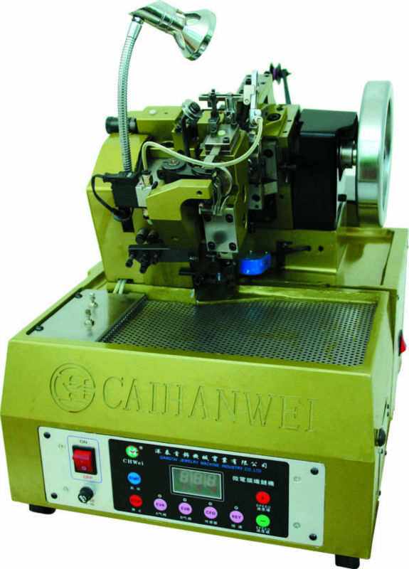 Chain making machine,machine for making jewelry chain