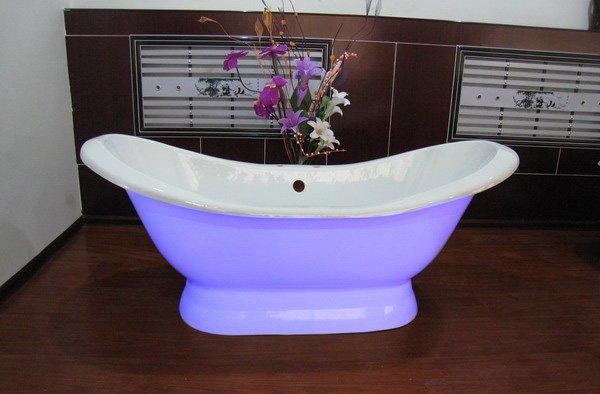 Tinas De Baño Vintage:Clásico bañera de hierro fundido de baño bañeras-Baño