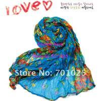 Женские шарфы, Шапки, Комплекты voile Bohemianscarf 20 /Lot175 * 50 , 1009067