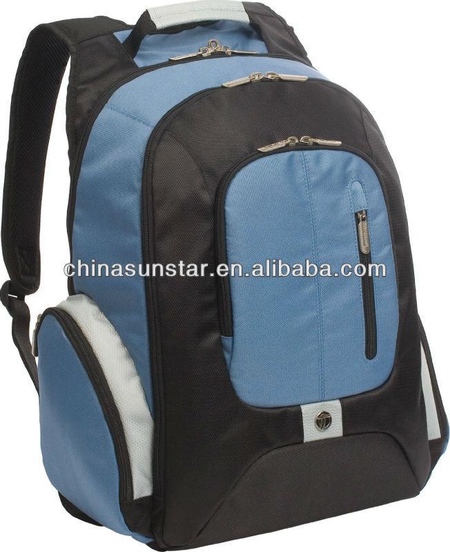 Men's cool laptop backpack/outdooor waterproof backpack factory