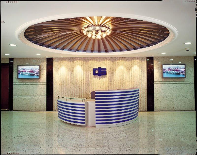 China Manufacturer Modern Large Reception Counter Hot Sale