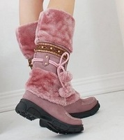 free shipping AH053 high quality flat uppers lady's casual dress shoes women's short boots size 35-40