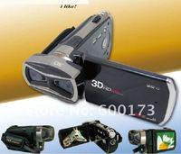Портативный камкордер FX-10 3D Full HD Digital Vedio Camera & Camcorder DV Camcorders 3.2 Inch Dual CMOS Sensor Russian language