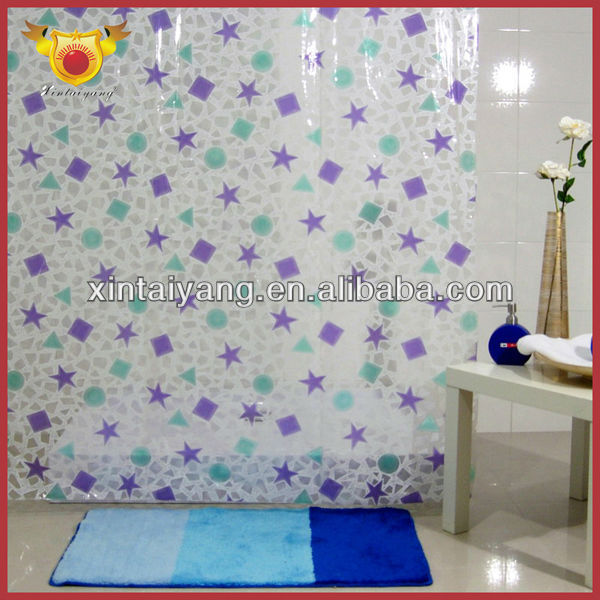 Clawfoot Tub Shower Curtain Solution Clear Tote Bags with Designs