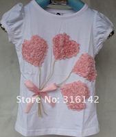 Футболка для девочки 5pcs/lot, Original brand with high quality t-shirt shops t-shirts for girl's printing t-shirt designs TT8820-4