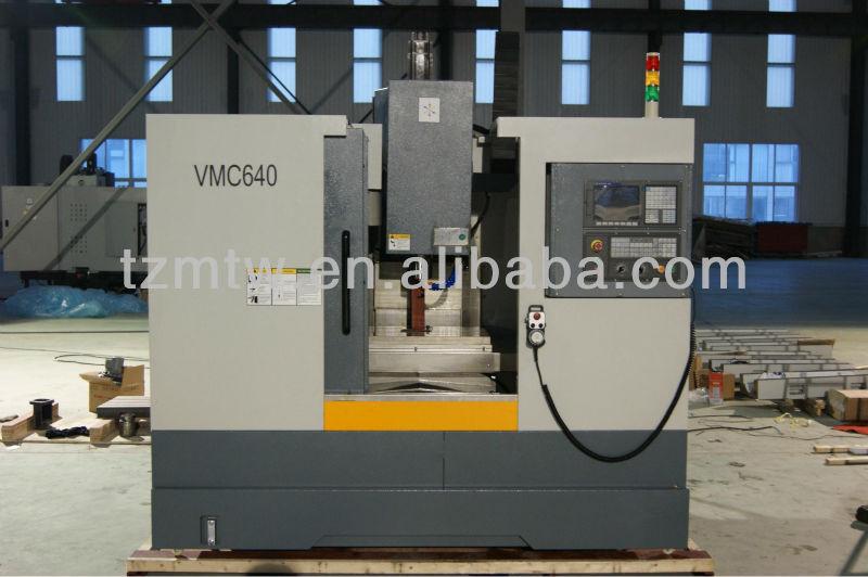 HIGH PRECISION CNC MILLING MACHINE AND MACHINING CENTER VMC640