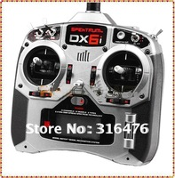 Hot Sale! DX6i W/AR6100 or AR6100e or AR6200 RC transmitter LCD Screen mode 1 or mode 2