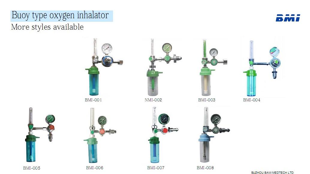 Oxygen Tank Flow Meter Oxygen Float Flowmeter With