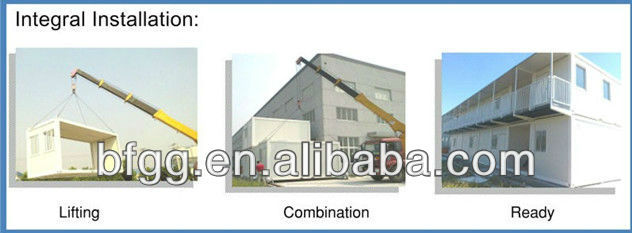Flexible design thermal sound insulation prefabricated container hotel