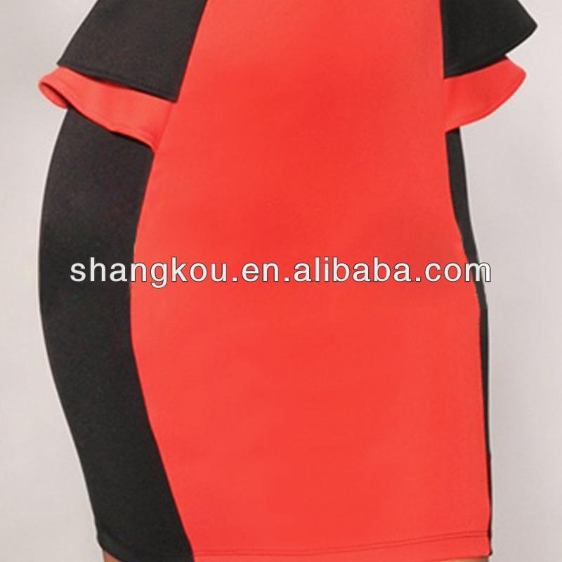 Guangzhou OEM factory ladies fashion dresses wholesale