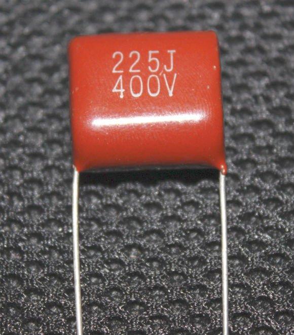 400V/225J CBB21 Metallized Polypropylene Film Capacitor/ Film Capacitor/ Metal Film Capacitor/ Capacitor