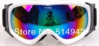 Женски очки для лыжного спорта new style fashion Beautiful Flowers Frame double layer Anti-Fog Lens Snowboard women Ski Goggles Coloured Lens